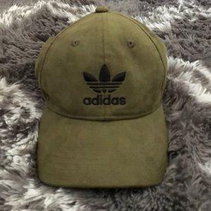 Women's Army Green Adidas Baseball Cap